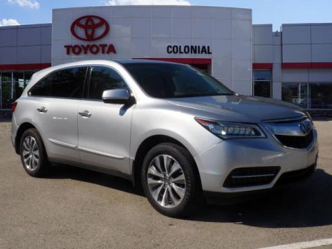 Pre-Owned 2014 Acura MDX SH-AWD w/Tech AWD SH-AWD 4dr SUV w/Technology Package